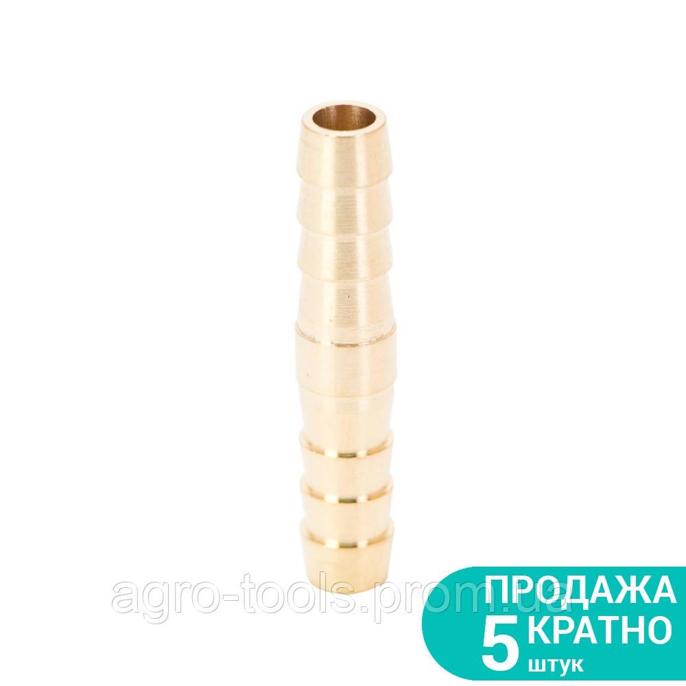 З'єднання для шланга 8мм (латунь) Sigma (7023831)