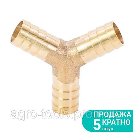 Соединение для шланга Y 12мм (латунь) SIGMA (7024051), фото 2