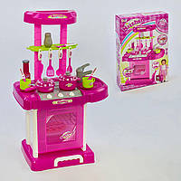 Игровой набор Кухня с посудой 008-58 в чемодане