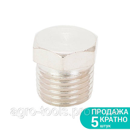"""Заглушка с наружным резьбовым соединением MT 1/4"""" SIGMA (7025811), фото 2"""