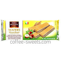 Вафлі Feiny Biscuits Wafers Hazelnut 250 гр