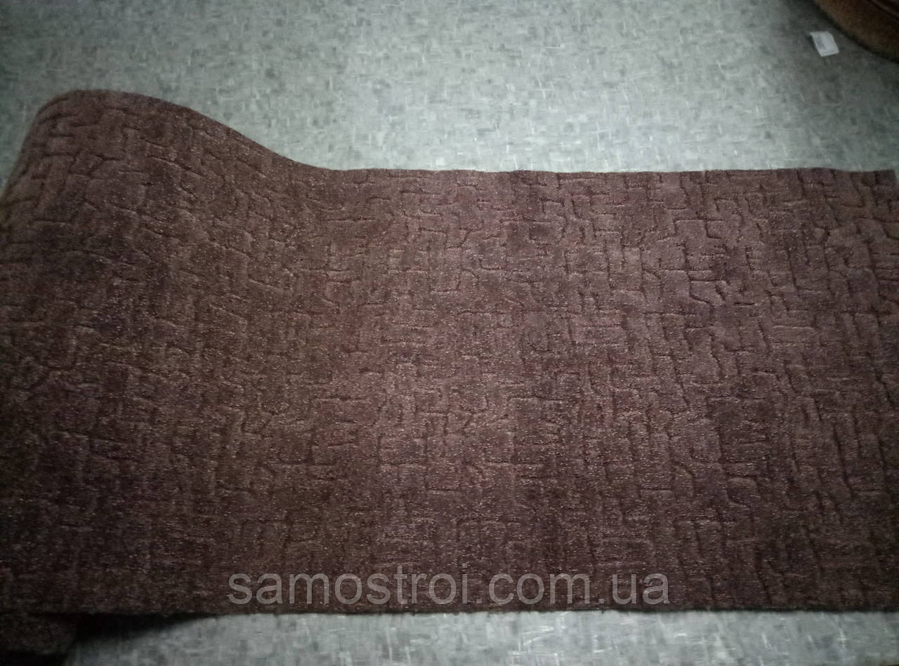 Ковровые изделия Береза коричневая 3 м (остаток 0,98 погм)
