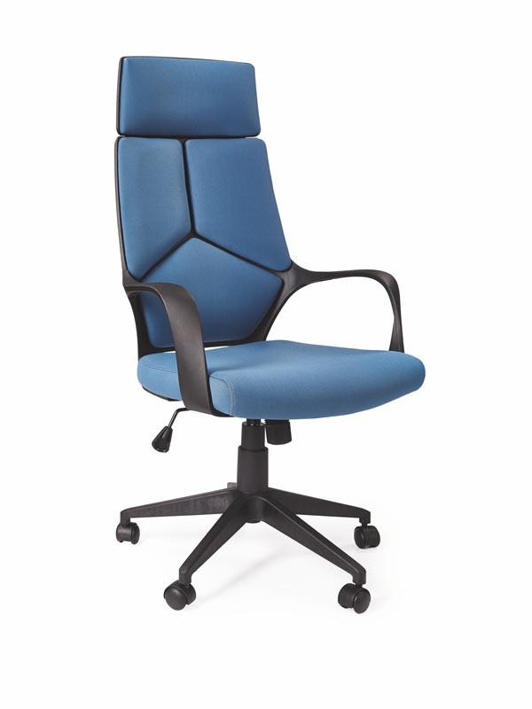 Крісло комп'ютерне VOYAGER чорно-синій (Halmar)