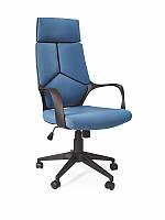 Крісло комп'ютерне VOYAGER чорно-синій (Halmar), фото 1