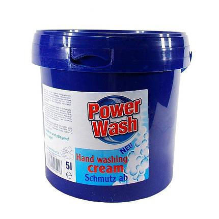 Паста для мытья рук Power Wash 5л (ведро) Германия, фото 2