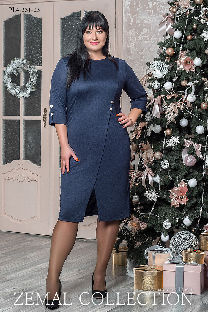 Платье PL4-231.23 большие размеры