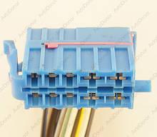 Разъем автомобильный 10-pin/контактный. 41×15 mm. 928595. Б.У
