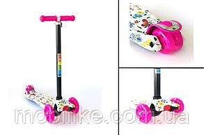 Самокат для детей Micmax Бабочки