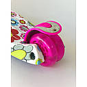 Самокат для детей Micmax Ромашки, фото 4