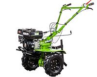 Мотоблок BIZON 1100S LUX (бензин 7 л.с., колеса 4.00-8, редуктор, фреза 2+1+1, 32 ножа)