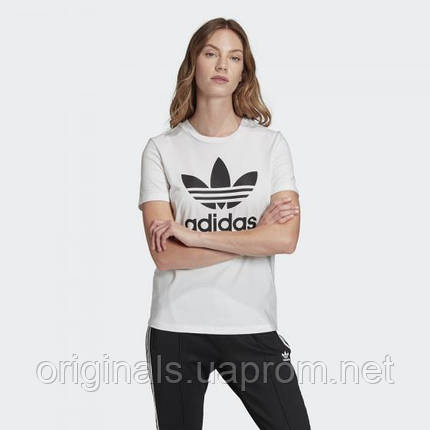 Жіноча футболка Adidas Originals Trefoil Tee FM3306, фото 2