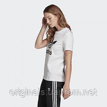 Жіноча футболка Adidas Originals Trefoil Tee FM3306, фото 3