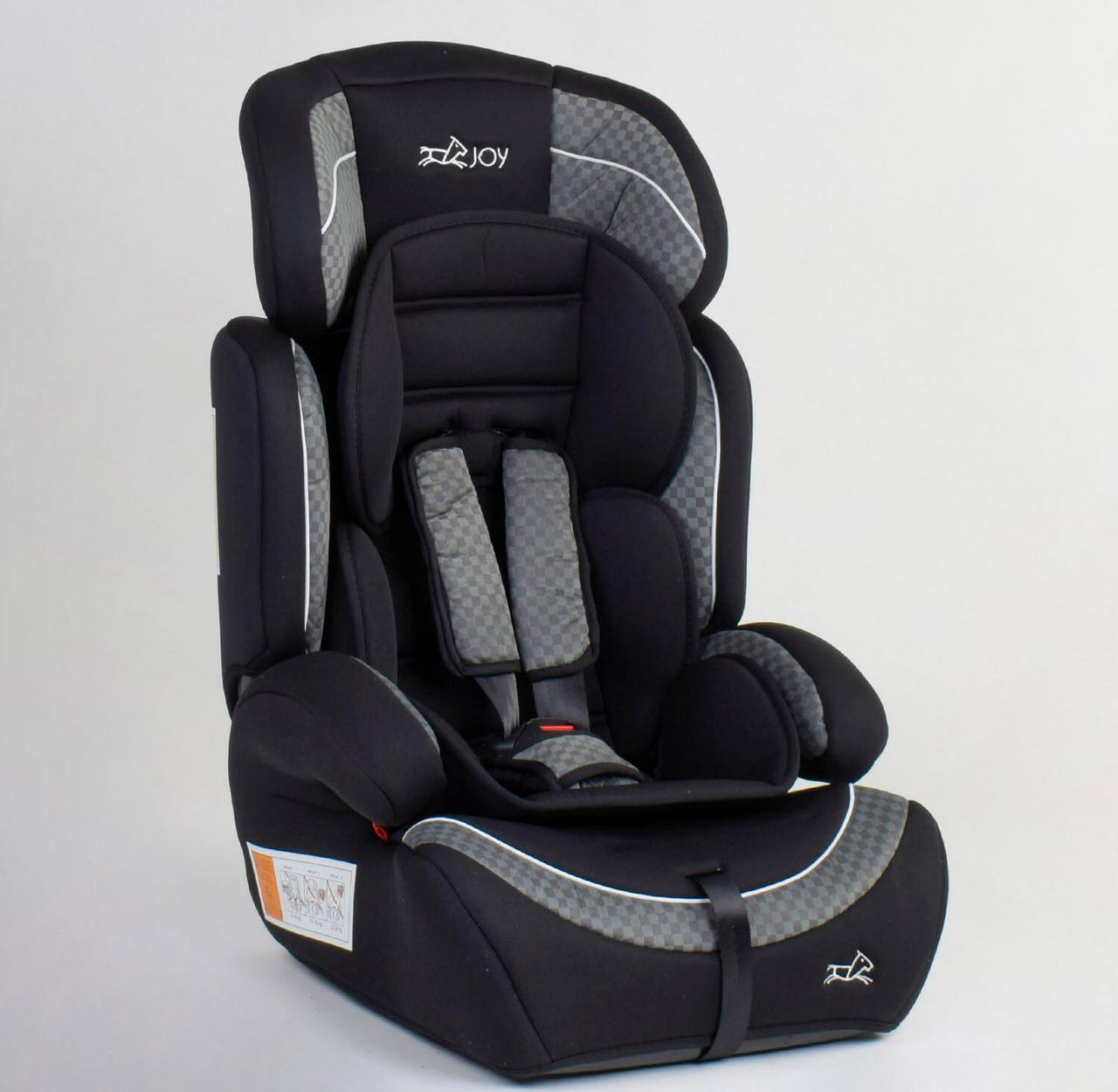 Детское автокресло JOY 49779 универсальное, группа 1/2/3, вес ребенка от 9-36 кг