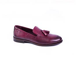 Туфлі лофери Rifellini бордові