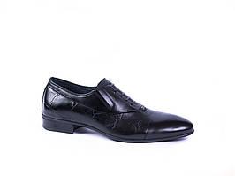 Туфлі оксфорди чорні Sensor
