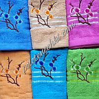 Банное полотенце Веточка  сакуры
