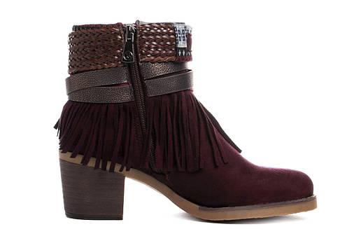 Жіночі черевики Kylie kantri 36 burdeos, фото 2