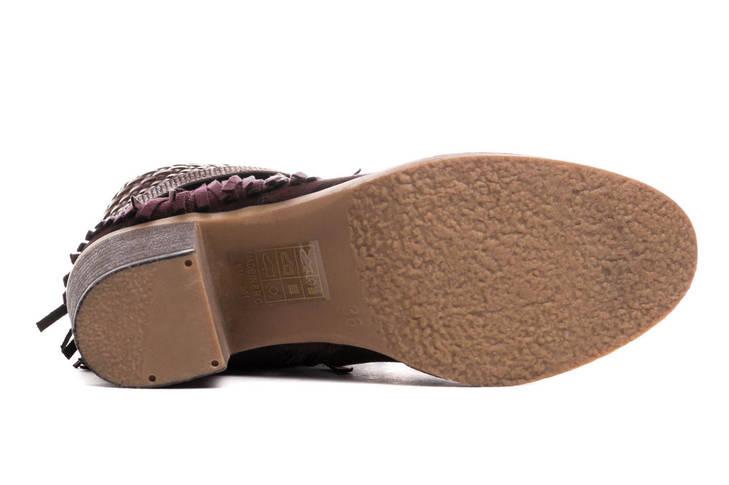Жіночі черевики Kylie kantri 36 burdeos, фото 3