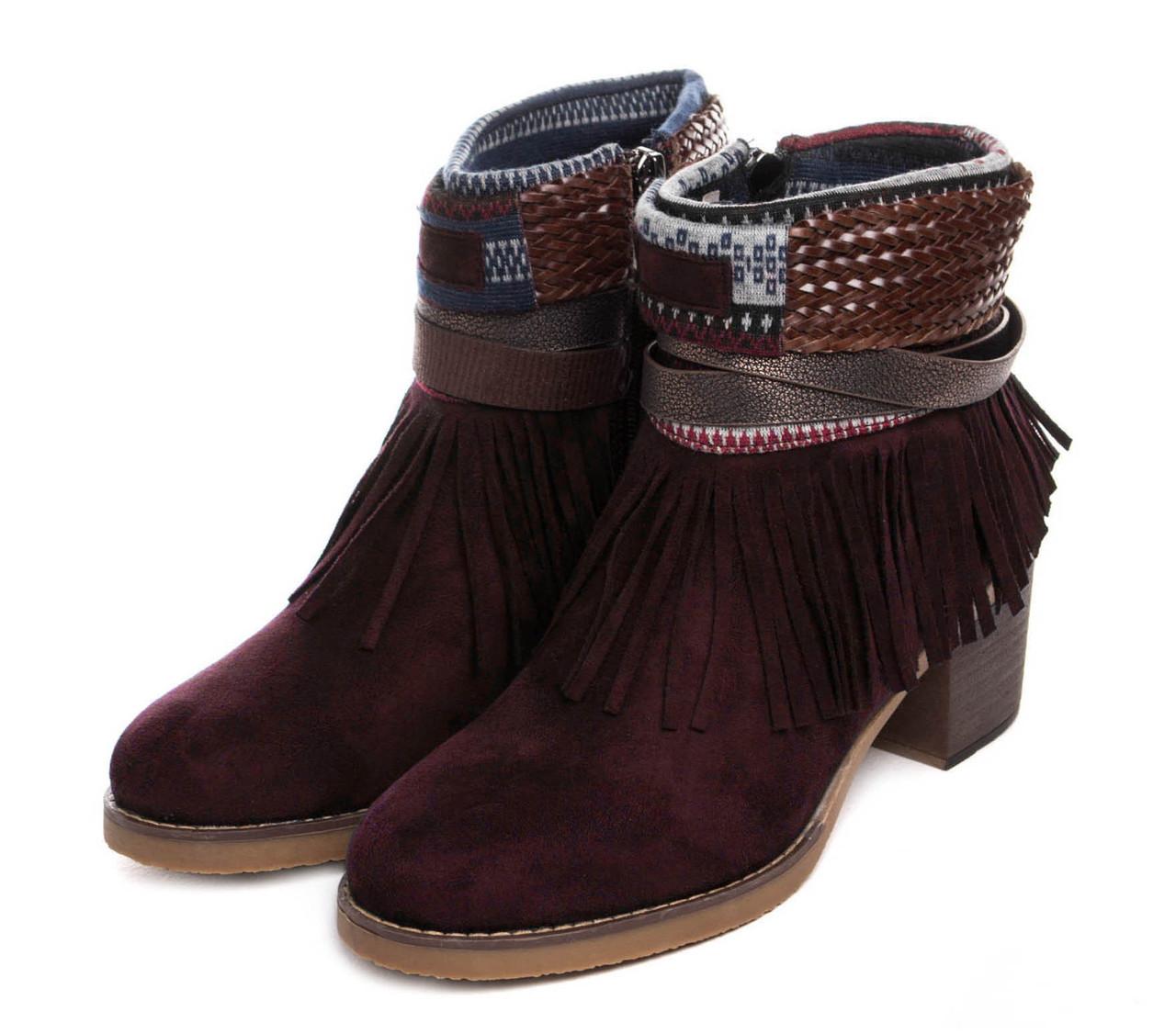 Жіночі черевики Kylie kantri 36 burdeos