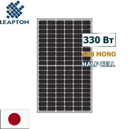 Солнечная панель (батарея) 330 вт Leapton LP120-300P/5BB