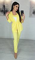 ТК2245 Стильный женский костюм-тройка разные цвета, фото 1