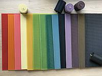 Вощина кольорова в асортименті 15 кольорів, для свічок, декору, майстеркласів
