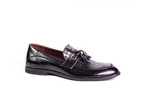 Туфлі лофери VadRus чорні