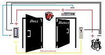 Установка Электромагнитных замков, монтаж систем контроля доступа на дверь, фото 3