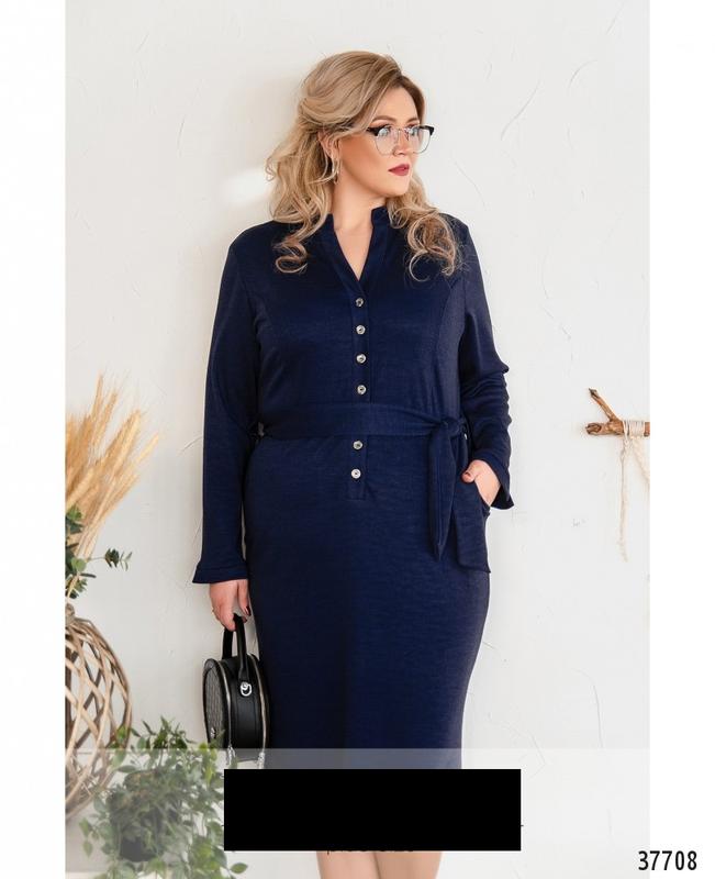 Платье женское повседневное деловое размеры: 58,60,62