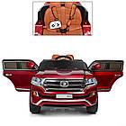 Двухместный детский электромобиль M 3984EBLRS-3 красный автопокраска, фото 4