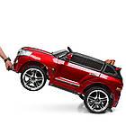 Двухместный детский электромобиль M 3984EBLRS-3 красный автопокраска, фото 5