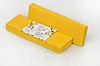 Полоски для депиляции 7х22см 100шт Жовтий