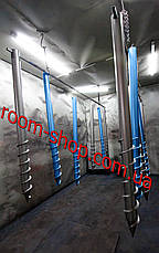 Геошуруп (многовитковая свая, БЗС) диаметром 108 мм длиною 5.5 метров, фото 3
