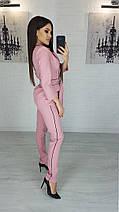 """Деловой брючный женский костюм """"Sinead"""" с пиджаком (5 цветов), фото 2"""