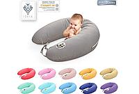Наволочка на подушку 30х170см для беременных и кормления, ЭКОНОМ