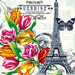 Салфетка Luxy эйфелева башня