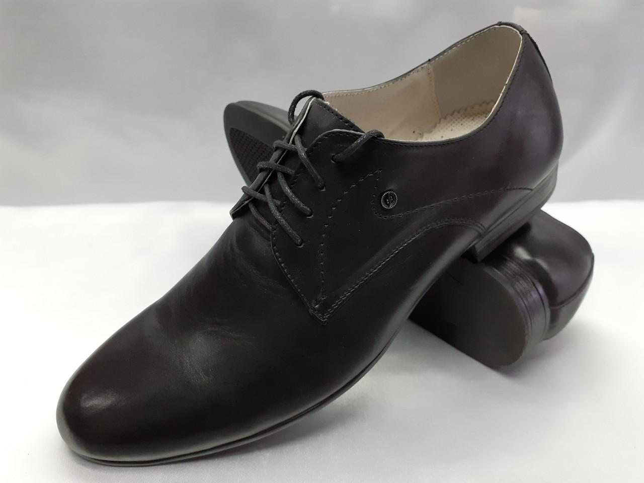 Классические кожаные туфли на шнурках Faro