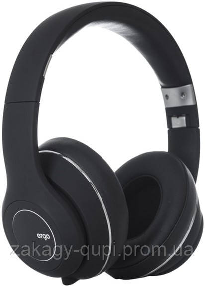 Наушники ERGO BT-870 Bluetooth black