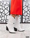 Модные сапоги казаки демисезонные, фото 3