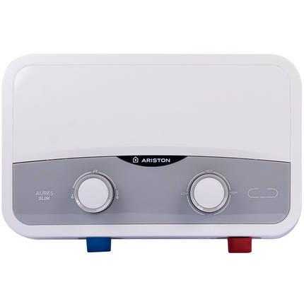 Проточный водонагреватель Ariston AURES SF 5.5 COM 3520018, фото 2