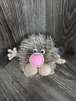 Интерьерная мягкая  вязаная игрушка на каркасе Хочун 15*16см, фото 1