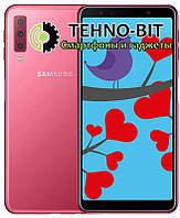 Смартфон Samsung Galaxy A7 2018 4/64Gb Pink (SM-A750FZIUSEK) Гарантия 12 месяцев