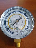 Манометр VALUE FBL низкого давления R600a, R290 диаметр 68 мм, фото 1