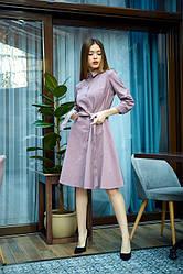 Сукня - сорочка 1221.2 колір бежевий