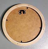 Круглые и овальные деревянные рамки, фото 10