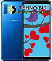 Смартфон Samsung Galaxy A7 2018 4/64Gb Blue SM-A750FZBUSEK Гарантия 12 месяцев