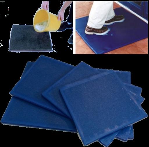 Дезинфекционный коврик 50х65х3см