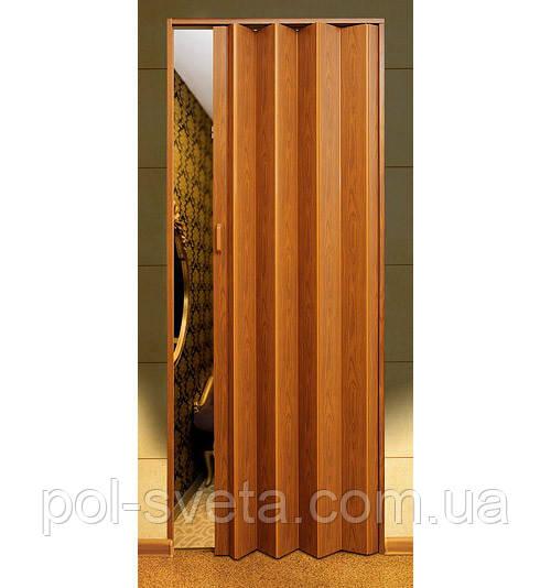 Дверь гармошка Melody фруктовое дерево