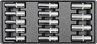 Вставка в инструментальный шкаф с длинными головками 8-21мм YATO YT-5539
