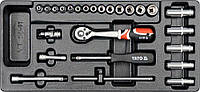 Вставка для инструментального ящика с набором торцевых головок YATO YT-5541